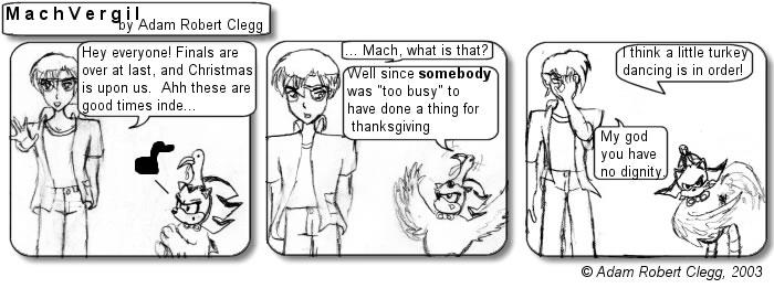 Machvergil Comic #022: Turkey Dancing
